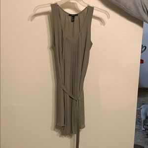 Olive green dress size S
